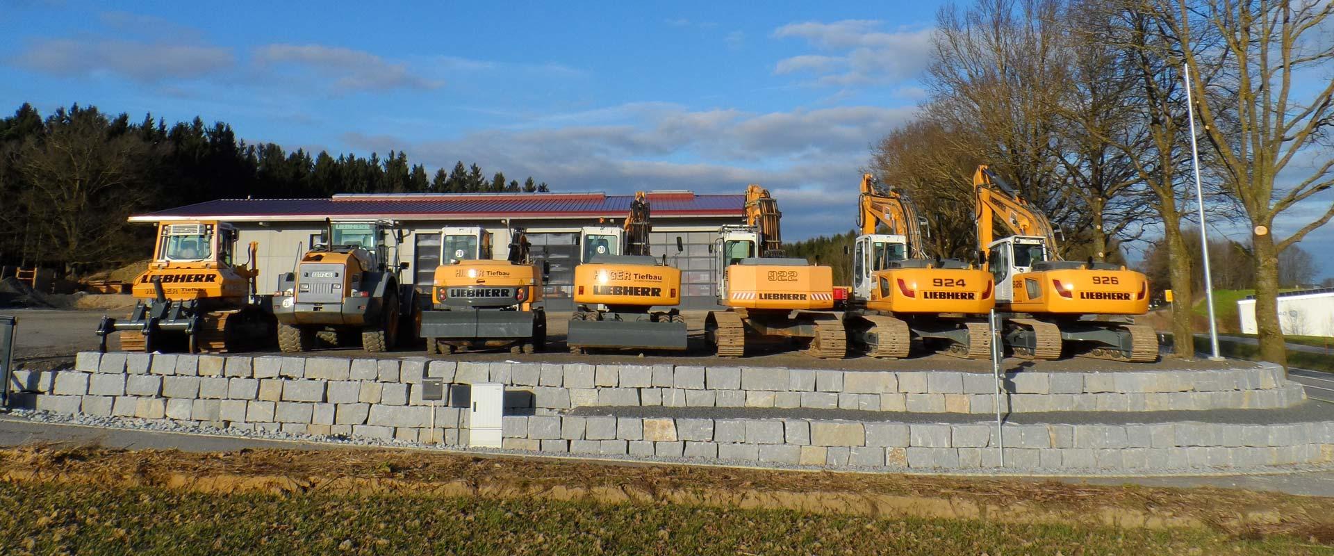 Hilger Tiefbau GmbH bei Erding.