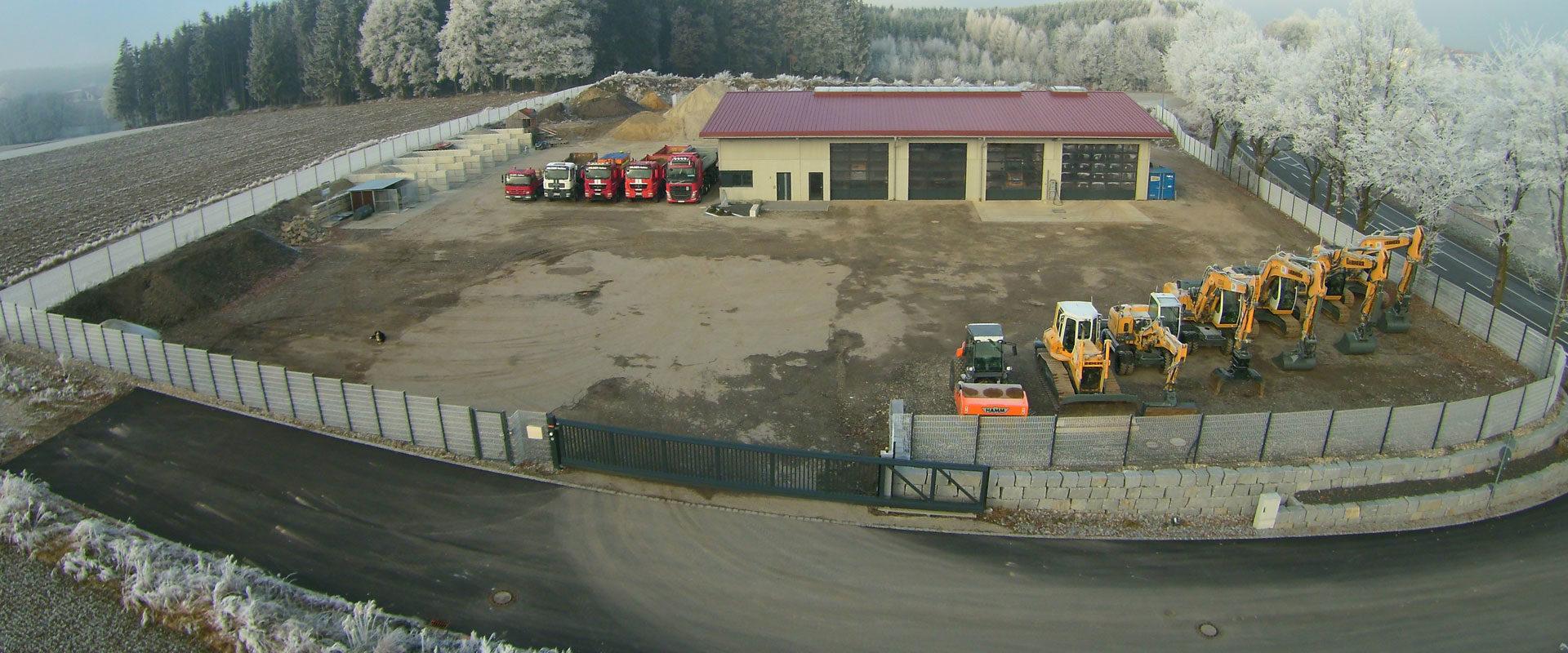Firmengelände in Hohenpolding bei Erding / Taufkirchen